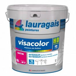 Peinture Visacolor SATIN blanc 15L intérieur décorative