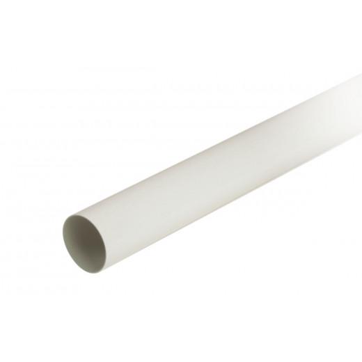 Tuyau descente 68/1,5mm blanc 3m MEP