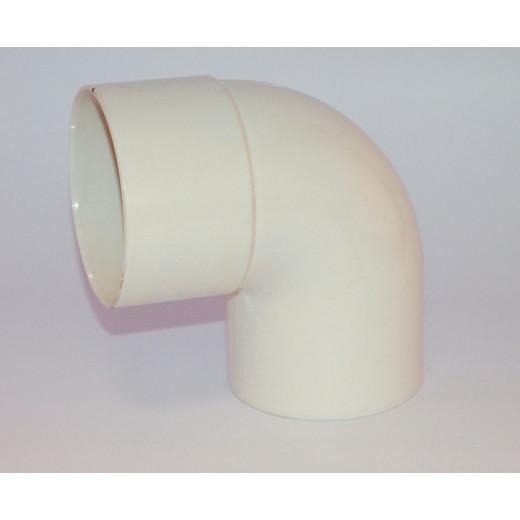 Coude PVC blanc MF 87°30 D80 MEP