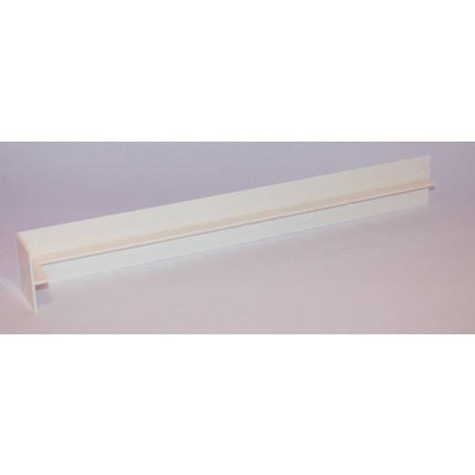Cache joint rivecel haut.30cm blanc mep