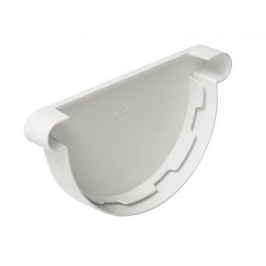 Fond gouttière universel de 25 PVC blanc