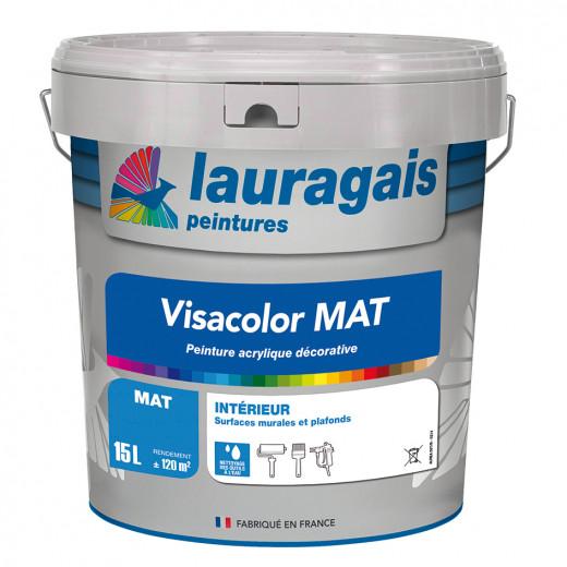 Peinture Visacolor MAT blanc 15L intérieur décorative