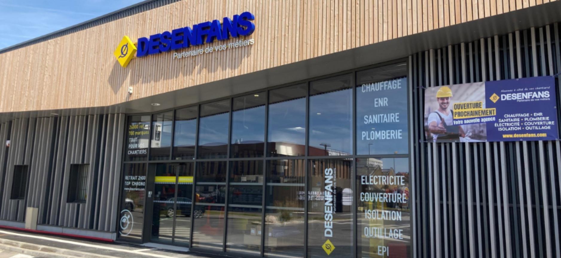 Façade magasin Desenfans