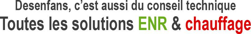 Desenfans solutions ENR