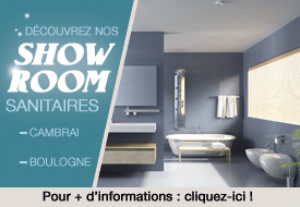 Showroom sanitaire et cuisine Desenfans Boulogne sur mer et Cambrai