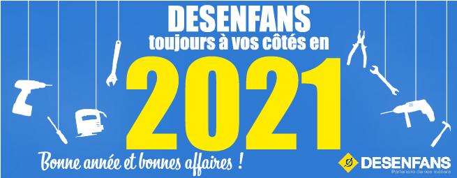 DESENFANS vous présente ses meilleurs voeux 2021 !