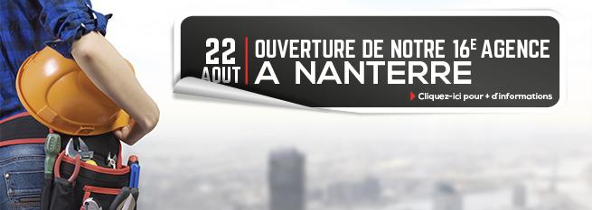 Ouverture agence à Nanterre !