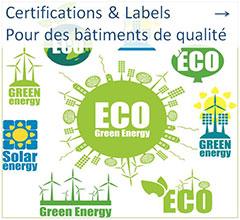 Certifications et labels