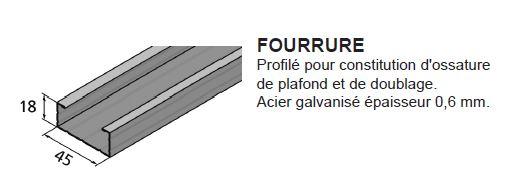fourrure stil f530 5 30m cloisons isolation couverture isolation desenfans. Black Bedroom Furniture Sets. Home Design Ideas